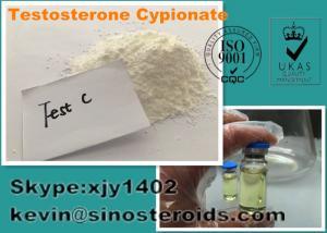 China Тестостерон Cypionate 58-20-8 безопасных стероидных белых сырцовых порошков для заниматься культуризмом on sale