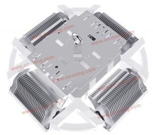 China OEM Custom Bridgelux Indoor and outdoor High Bay Led Lights with white  High Power 400W 70 -  80 CRI Ce  RoHs on sale