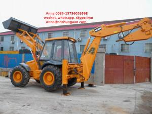 China JCB 4cx Used Backhoe Loader , Backhoe Wheel Loader 7920 * 3050 * 3400 Mm on sale