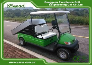 China 2 Passenger Electric Utility Carts / Electric Food Cart With 48v Trojan Batteries on sale
