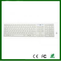 China Chocolate Keyboard 2.4G White Wireless  PC Keyboard For DESKTOP PC Laptop on sale