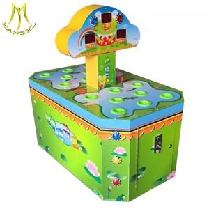 Hansel token operated game machine double hamaster for kids