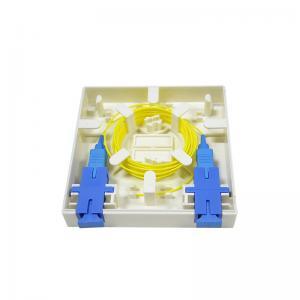 China High Quality Fiber Optic 2 core FTTH mini fiber optic terminal box on sale