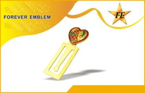 China Fashionable Personalized Metal Bookmark With Soft Enamel For Promotion on sale