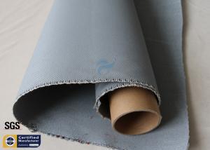 China Grey Silicone Coated Fiberglass Fabric 1600GSM 47OZ Heavy Duty Welding Blanket on sale