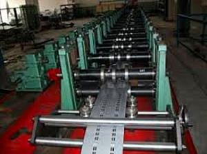 China Rack Roll Forming Enquipment Quantity Measurement With Single Line Chain 1.5 Inch on sale