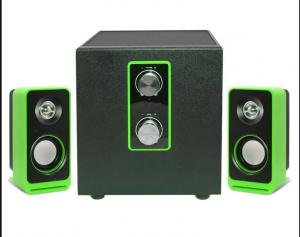 China Wooden Fashionable 2.1 Multimedia Speakers Active With Bass Control on sale