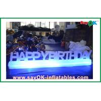 Birthday Party Led Inflatable Lighting Decoration Customized