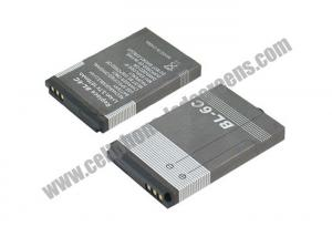 China 1150 mAh High Capacity Cell Phone Battery BL-6C For Nokia QD / E70 / 6268 on sale