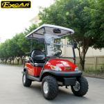 Red color mini Electric Golf Car