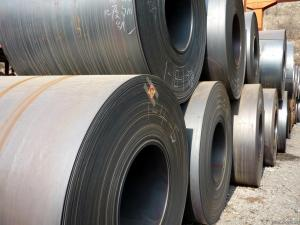 China Large Hot Rolled Steel Sheet Coil Anti Slip High Surface Hardness For Power Plants on sale