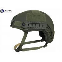 China Aramid Tactical Bump Helmet , Military Kevlar Helmet Moisture Proof on sale