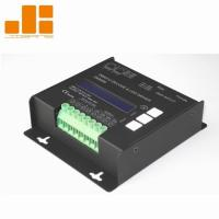 China LCD Display Black 4CH DMX Decoder With Micro - Computer Control Technology on sale