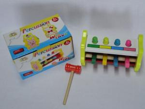 China Knock Musical Instrument Xylophone Kids Wooden Play Sets with Bar / Lovely Little Rabbit on sale