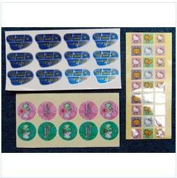 China Grease proof custom prevail packing PET personalized funny colored sticker labels on sale