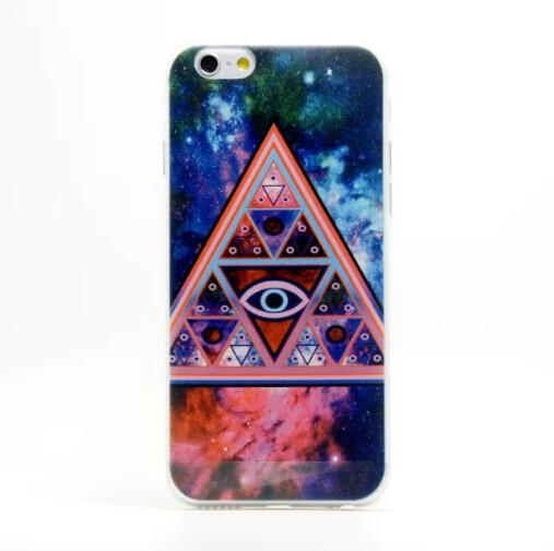Triangle Pattern TPU Soft Case For Mobile Phone Case Iphone 6 Images