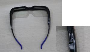 China 120Hz LCD Refresh Rate 3D Active Shutter Glasses for Movie And TV / Ratio 1000 : 1 on sale