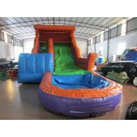 China Big Commercial Inflatable Wat With Pool 6-10 Children Capacity on sale