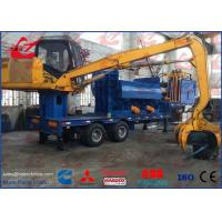 Mobile Non Ferrous Metals Scrap Baler Logger With Tailer Remote Control