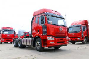 China Euro 3 FAW J6P Tractor Trailer Truck / 335HP - 375HP  6x4 Tractor Unit on sale