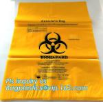 Bio Degradable Hospital Biohazard Waste Garbage Plastic Rubbish Bag For Garbage, Biodegradable Medical Biohazard Waste B