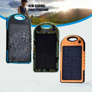 China 2014 Hot selling ! New style 12000mAh portable waterproof solar charger for Iphone 6 on sale