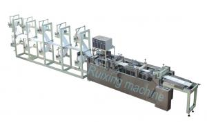 China Roll Cutting Nonwoven Filter Bag Making Machine with PLC Control System on sale