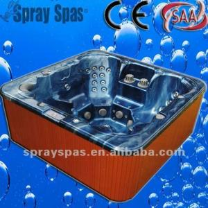 Quality 1220 Liters Water Capacity, Portable Massage Bathtub Outdoor Spas, 2250 * 2250 * for sale