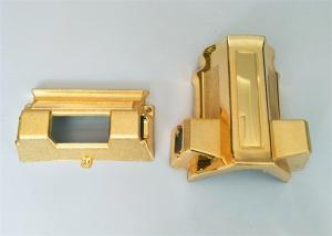 China Funeral Decoration Coffin Parts With Gold / Silver / Copper Material on sale