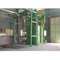 Cylinder Cleaning Industrial Shot Blaster Hanger Type Sand Removal 500kg