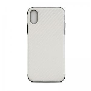 Quality Tpu Soft Customized Back Cover Case For Iphone X Iphone10 , Carbon Pattern for sale