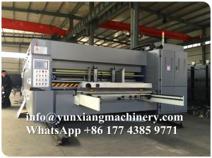 China YUNXIANG Group Economic Type Flexo Printer Slotter Die Cutter Machine on sale