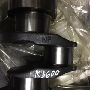 Cast Iron Diesel Engine Crankshaft K3600 For MAZDA / KIA