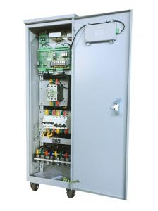 China Three Phase Voltage Stabilizer For autotransformer and Frequency modulation voltage regulator and SBW. on sale