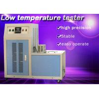 Single Sample Method Rubber Testing Instruments Low Temperature Impact Tester