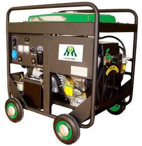 China Dual Use Diesel Welder Generator , 50A - 190A 50Hz Air-Cooled on sale