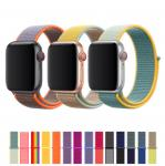 Nylon Smart Watch Band Strap 38mm 40mm 42mm For Apple