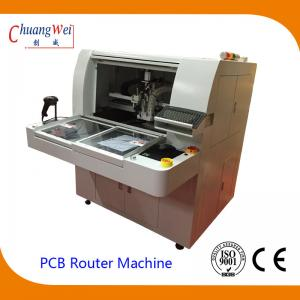 China High Resolution CCD and Camera  PCB Separator Machine PCB Router on sale