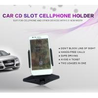 China Universal Car Cellphone Holder , Cell Phone Cup Holder Car Mount With Clip on sale