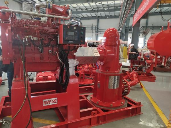 UL FM Diesel Engine Pump / 10 Bar Submersible Vertical
