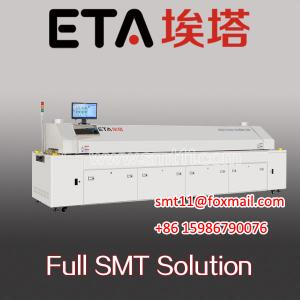 China SMT reflow oven,hot air reflow oven,SMT reflow,smd led soldering machine on sale