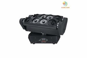 China DJ Laser Stage Light Eight Heads Spider Laser Moving Head Lighting 44*27.5*29cm on sale