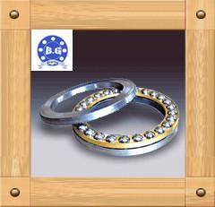 China SKF / FAG Thrust Ball Bearing Double Row Chorme Stee for Low Speed Reducer on sale