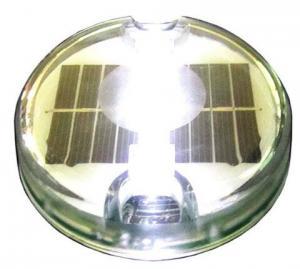 China white led solar plastic road stud, solar road marker, solar cat eye for roadway safety on sale