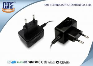 China GME EU 12V 500mA switching wall plug power supply  with CE ROHS  CB GS certificates on sale