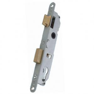 China Model Number:361-20L,Euro standard cylinder zinc alloy plastic steel door mortise lock body on sale