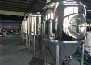 China Stainless Steel Brewery Fermentation Tanks 1000l - 6000L Capacity OEM Available on sale