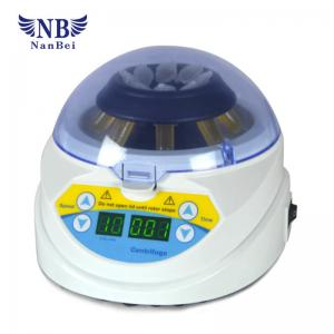 China Mini Laboratory Centrifuge Machine 4000rpm Mini-10K+ 1200g Centrifugal Force on sale