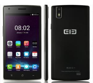 China Original Elephone G4 Smartphone Android 4.4 MTK6582 Smart Wake 5.0 Inch HD Screen Black on sale