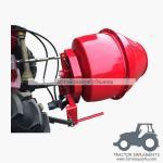 5HCM - 3ポイント連結器によって取付けられる油圧モーターによって運転されるコンクリートミキサー車のトラックミキサ